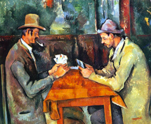 "Paul Cézanne's ""The Cardplayers"""