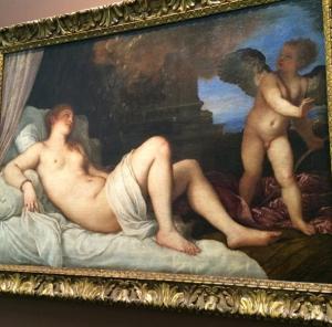 """""""Danaë,"""" by Titian"""